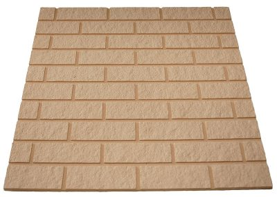 Beige Brick Effect